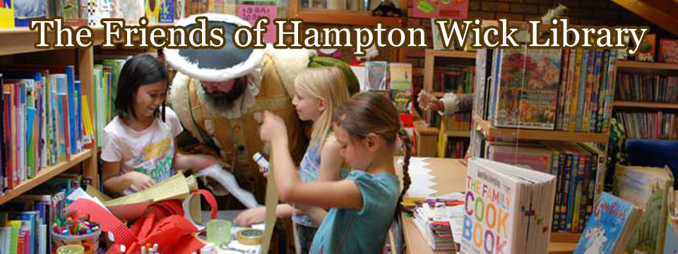 Header image for Friends of Hampton Wick Library